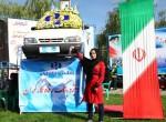 برنده سواری پراید همایش بزرگ پیاده روی خانوادگی ۲۵ مهر