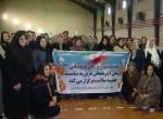 برگزاری مسابقات طناب زنی به مناسبت هفته سلامت