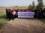 همایش کوهپیمایی  بانوان بمناسبت هفته زن در میاندوآب برگزار شد .