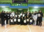 مسابقات داژبال ویژه بانوان بمناسبت هفته جوان برگزار شد