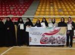 مسابقات آمادگی جسمانی بانوان در هفته بسیج برگزار شد