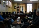 نشست رئیس اداره کل ورزش و جوانان شهرستان میاندواب