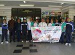 برگزاری ورزش صبحگاهی و تیراندازی با تفنگ بادی در اداره وارزش و جوانان استان