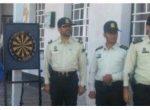 برگزاری مسابقه دارت بمناسبت گرامیداشت هفته نیروی انتظامی در میاندوآب
