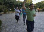 اجرای ورزش صبحگاهی بمناسبت گرامیداشت دهه کرامت در پارک ساحلی آتا میاندوآب