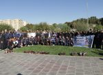 برگزاری همایش ورزش صبحگاهی در پارک گوللر باغی ارومیه