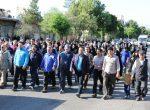 همایش پیاده روی خانوادگی درشهرستان سلماس بمناسبت روز جهانی مبارزه با مواد مخدر