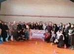 مسابقه آمادگی جسمانی بانوان در اروميه برگزار شد