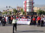همایش پیاده روی خانوادگی در پیرانشهر برگزار شد