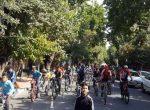 همايش دوچرخه سواري و اسکیت همگاني در مهاباد برگزار شد