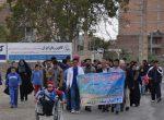 همایش پیادهروی جانبازان، معلولین، ناشنوایان، نابینایان و بیماران خاص برگزار شد