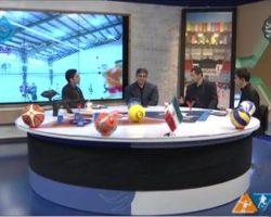 هیات ورزش های همگانی مهمان رسانه ملی
