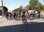برگزاري همايش تركيبي دوچرخه سواري همگاني واسكيت همگاني در مهاباد