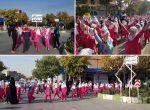برگزاري همایش بزرگ پیاده روی دانش آموزی ارومیه گرامیداشت هفته تربیت بدنی و ورزش