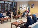 جلسه ی هم اندیشی با مدیرکل محترم اداره ورزش و جوانان استان