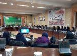 نشست مشترک مسئولین ستادی و شهرستانی حوزه ورزش بانوان استان با خانم دکتر فرهادی زاد