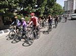 همایش دوچرخهسواری همگانی در مهاباد برگزار شد